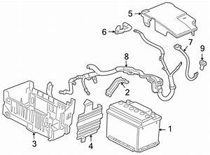 2013 Chevrolet Cruze Battery Cable  Fuse  Primary