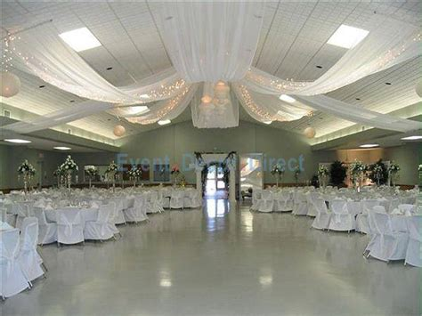 How To Hang Ceiling Drapes For Events - diy wedding crafts ceiling draping kits