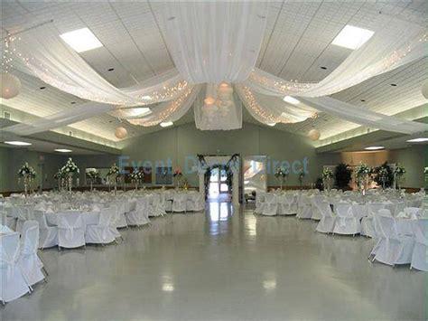 Diy Wedding Crafts Ceiling Draping Kits
