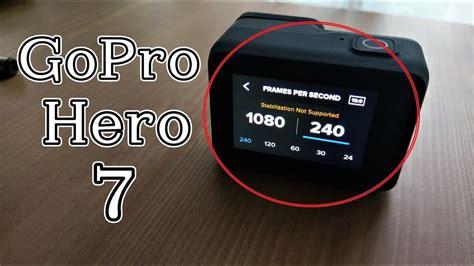 gopro hero black slow motion tutorial settings