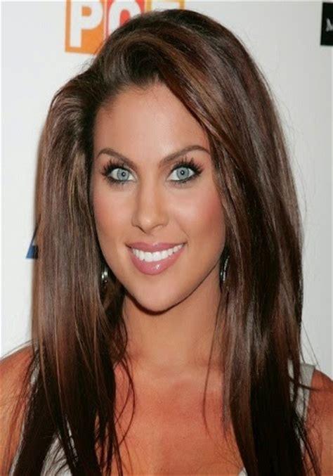 hair colors    brown eyes hair fashion