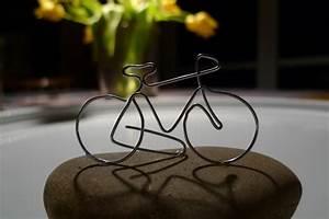 Basteln Mit Draht Vorlagen : fahrrad aus draht gebogen karin urban naturalstyle ~ Lizthompson.info Haus und Dekorationen