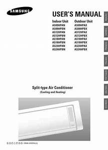 Samsung As24hpbn Air Conditioner Download User Guide For