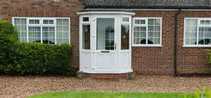 Front Porch Upvc Porch Brick Porch Hazlemere Tongue And Groove Porch Flooring