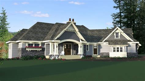 4 Bed 4 Bath Craftsman For A Sloping Lot