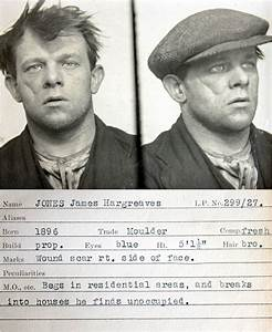 Police Mugshots of 1930s Criminals ~ Kuriositas
