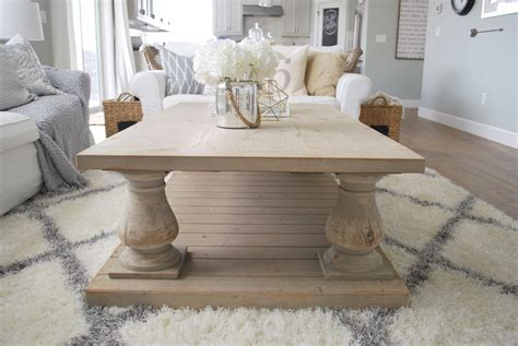 baluster coffee table winfrey reclaimed pinewood coffee table paint the world 1456
