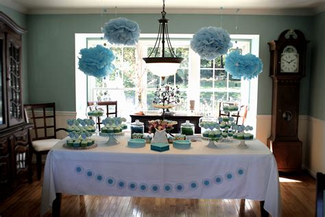 baby shower table decorations for boy archives decorating of