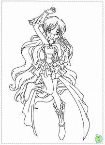 Mermaid Melody coloring page- DinoKids.org | Anime ...