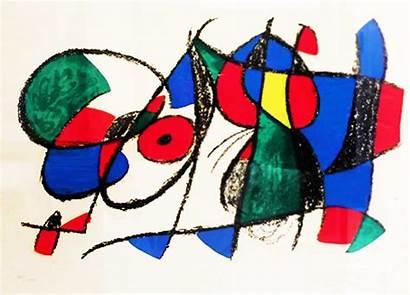 Miro Joan Lithograph 1044 Vii Untitled Ii