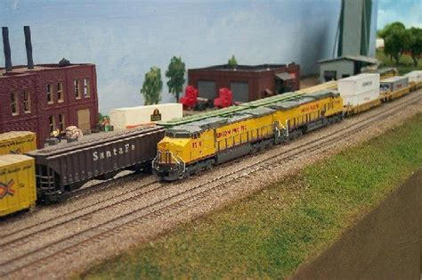 Daryl Kruse N scale Union Pacific | Model Railroad Layout ...
