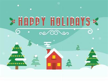 Holidays Happy Holiday Christmas Dribbble Ashley Merry