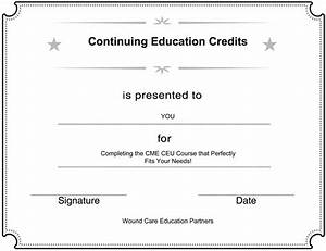 continuing medical education cme ce wound care With medical documentation continuing education course