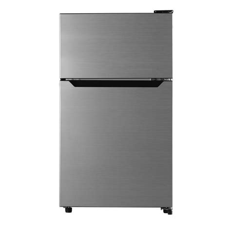 2 door mini fridge hisense 3 3 cu ft 2 door mini refrigerator