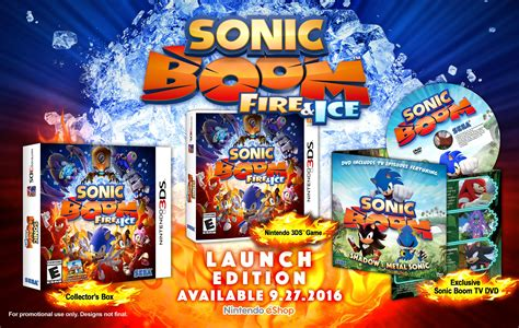 sonic boom fire  ice launch edition