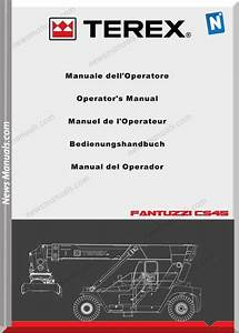 Terex Crane Cs 45 Km Operator Manual