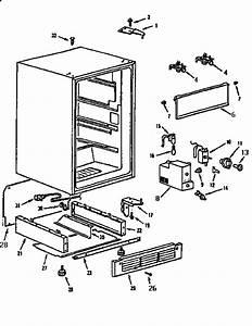 Kenmore 5649936180 Compact Refrigerator Parts