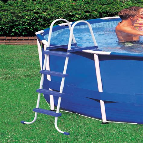 Intex Above Ground Swimming Pool Ladder W Barrier 48