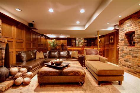 brilliant living room designs  leather furniture