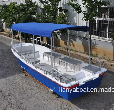 china liya ft fiberglass hull fishing boat  sale