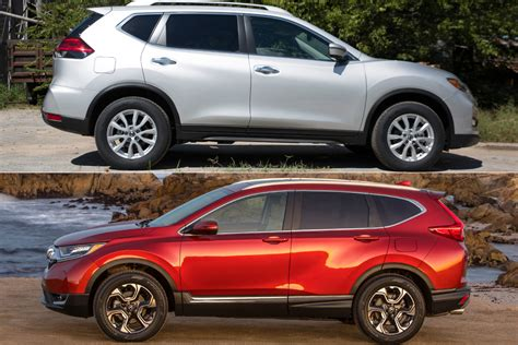 2019 Nissan Rogue Vs 2019 Honda Crv Which Is Better