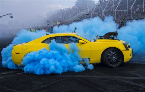highway max dual coloured smoke burnout drift tyre
