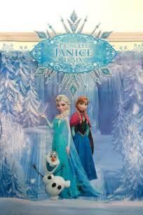 Disney Frozen Birthday Party Decoration Ideas