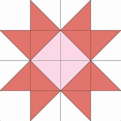 Quilt Star Block Ribbon Patterns Easy Barn