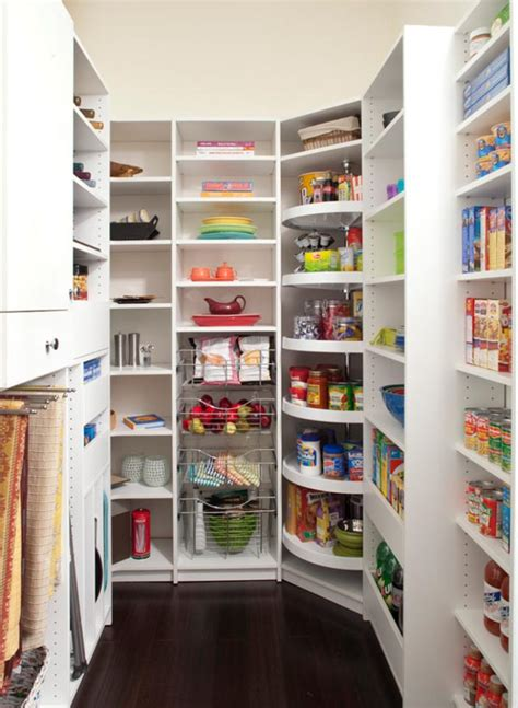 corner kitchen pantry ideas 25 great pantry design ideas for your home
