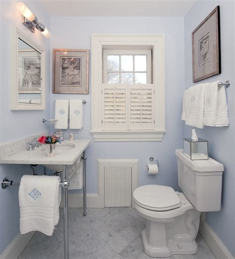 Colorful Ideas To Visually Enlarge Your Small Bathroom