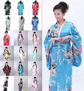 Image Gallery japanese kimono robe