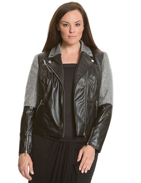 cloth moto jacket 6th lane fabric blocked moto jacket lane bryant