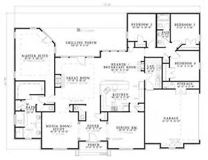 floor plans ranch bonaventure place ranch home plan 055d 0774 house plans and more