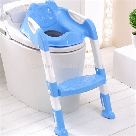 Potty Chairs For Big Toddlers by Baby Potty Seat With Ladder Children Toilet Seat Cover