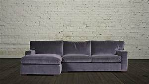 Sectional sofa design velvet sectional sofa with chaise for Quality small sectional sofa