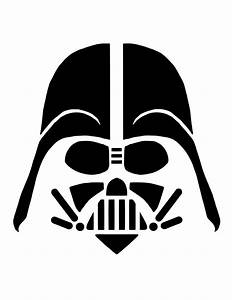 Darth Vader Face Stencil | www.pixshark.com - Images ...