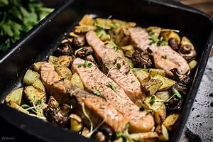 Gefrorener Lachs Im Backofen : lachs aus dem backofen mit rosmarinkartoffeln von cookingcatrin ~ Markanthonyermac.com Haus und Dekorationen