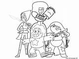 Steven Universe Coloring Pages Character Garnet Printable Characters Lit Template Gems Crystal Pearl Cartoon Quartz Amethyst Evil Star Lesson Info sketch template