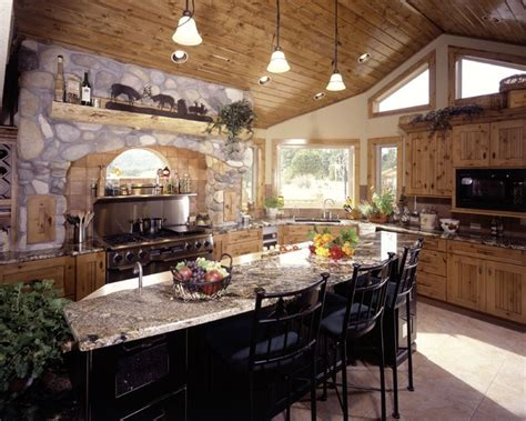 Rustic And Country Kitchens-traditional-kitchen
