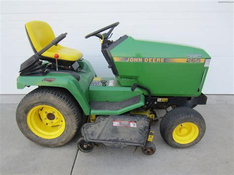 1990 john deere 265 lawn garden and commercial mowing