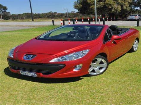 peugeot for sale australia 2011 peugeot 308 cc auto for sale from dartmoor western