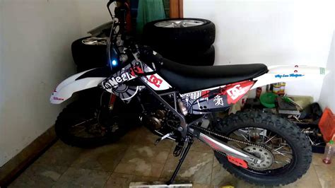 Modifikasi Klx Dtracker by Kumpulan Modifikasi Motor Trail D Tracker Terupdate