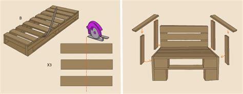 fabriquer un canapé en palette canape avec palette 5 comment fabriquer un fauteuil en