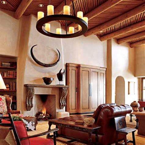 Pueblostyle Home With Traditional Southwestern Design