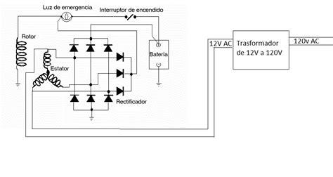 solucionado conexion de alternador a bobina 12v a 120v yoreparo