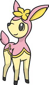 Pokemon Official Artwork by Spring Deerling Flavor Pok 233 Mon 585 Veekun
