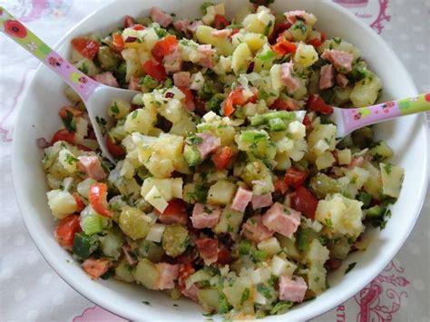 cuisine marocaine salade de pommes de terre à l 39 italienne recette az