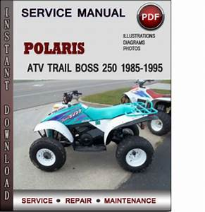 Polaris Atv Trail Boss 250 1985