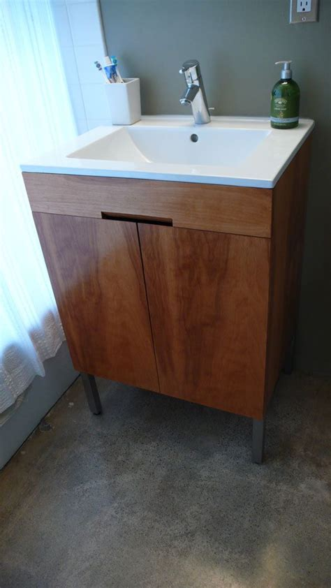 building  bathroom vanity  scratch woodworking