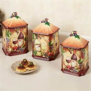 grape canister sets kitchen pics photos grape wine kitchen decor product reviews compare prices